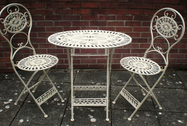 Antique Wrought Iron Patio Furniture