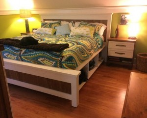 Bed Frame With Drawers Plans