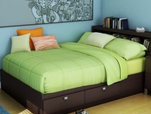 Bed Frame With Storage Full