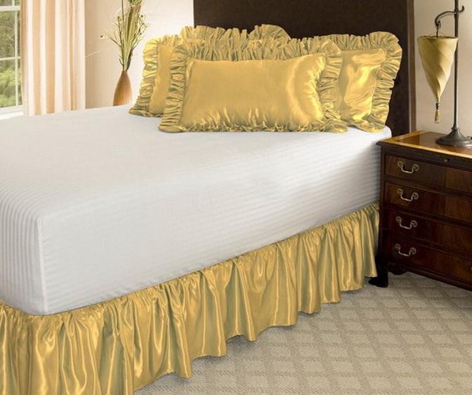 Bed Skirts Queen 21 Inch Drop