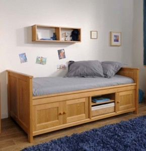 Bed With Storage Design Ideas