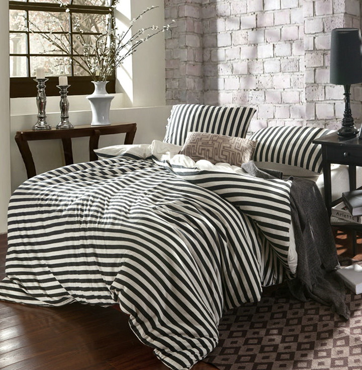 Black And White Bedding King Size