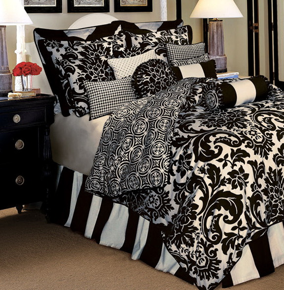 Black And White Bedding Sets Twin