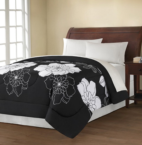 Black And White Bedding Sets Walmart
