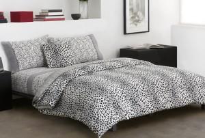 Black And White Cheetah Print Bedding