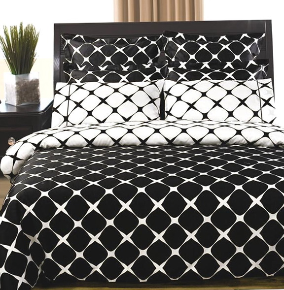 Black And White Chevron Bedding Twin Xl