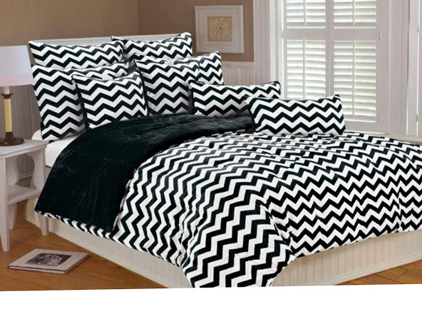 Black And White Chevron Bedding Walmart