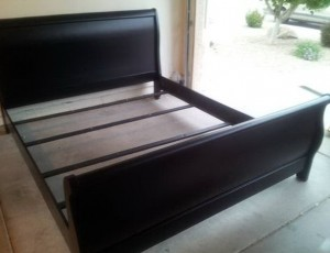Black California King Bed Frame