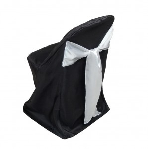 Black Folding Chair Covers