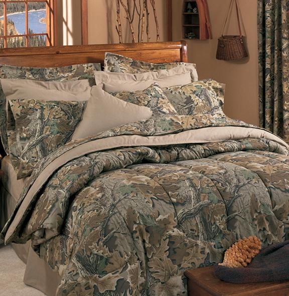 Blue Camo Bedding Sets