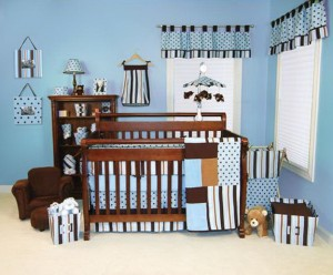Boy Crib Bedding Modern
