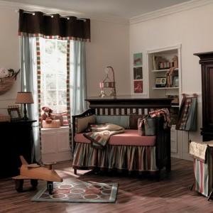 Boy Nursery Bedding Modern