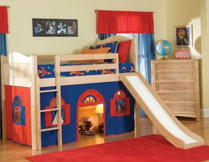 Boys Bunk Beds With Slide
