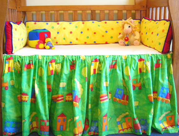 Bright Colors Baby Girl Bedding Sets
