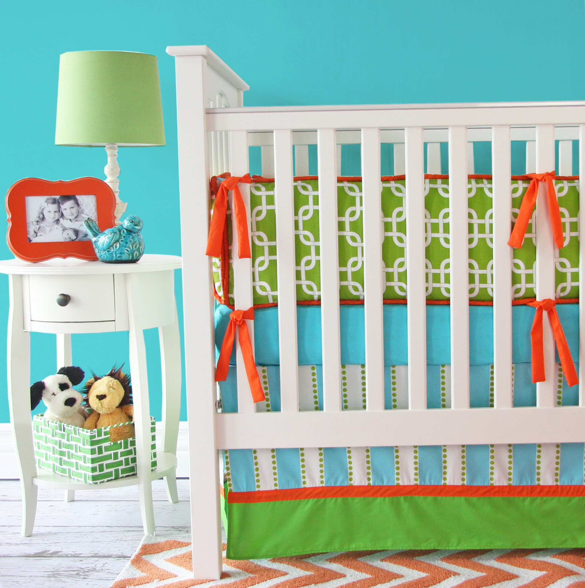 Bright Neutral Baby Bedding