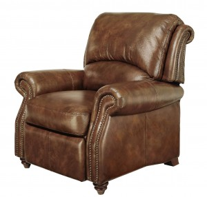 Brown Leather Club Chair
