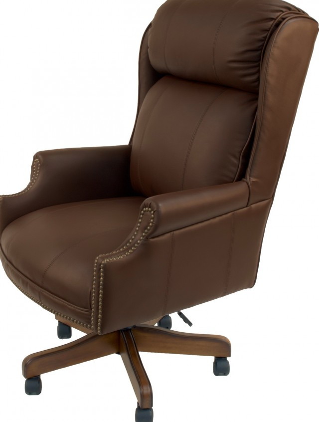Brown Leather Office Chairs