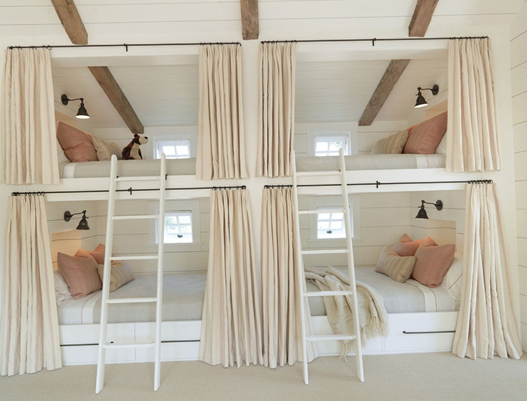 Built In Bunk Beds For Kids