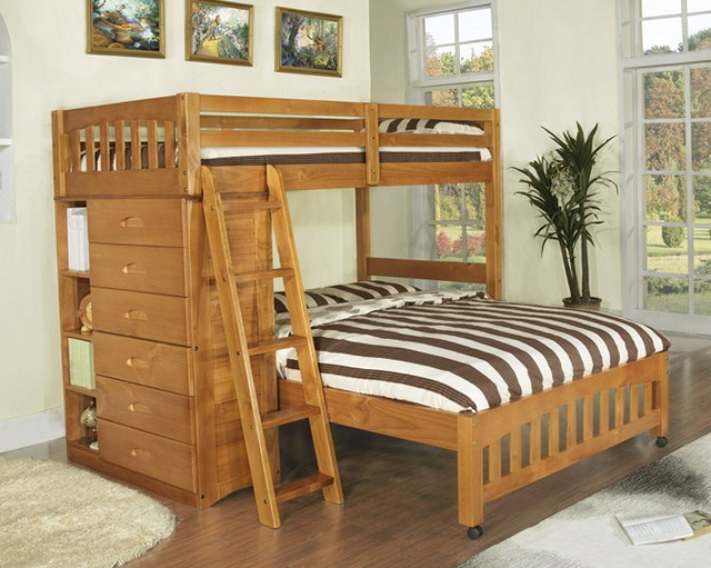 Bunk Bed Plans Twin Over Double