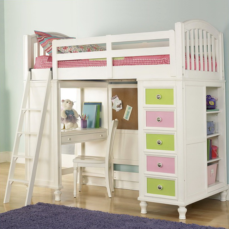 Bunk Beds For Girls With Storage