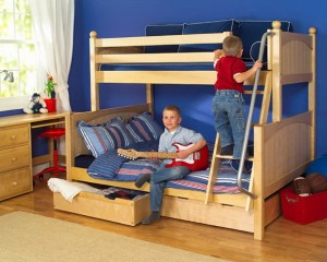 Bunk Beds Twin Over Full With Drawers