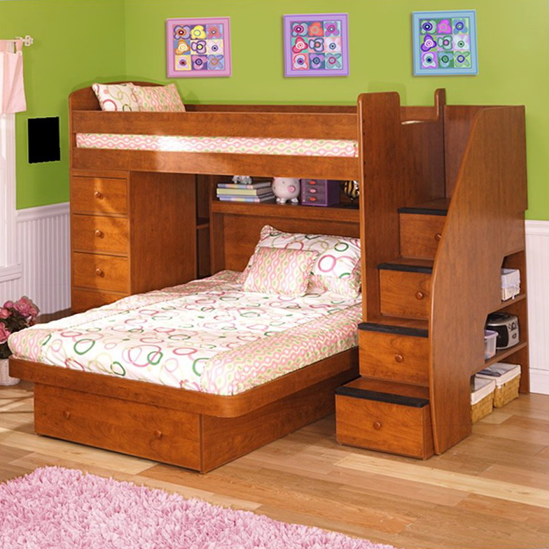 Bunk Beds Twin Over Full With Storage