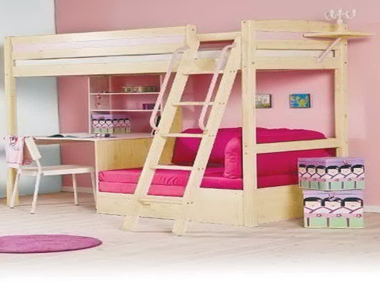 Bunk Beds With Desk And Sofa