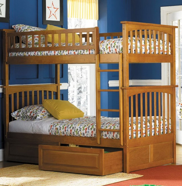 Bunk Beds With Drawers