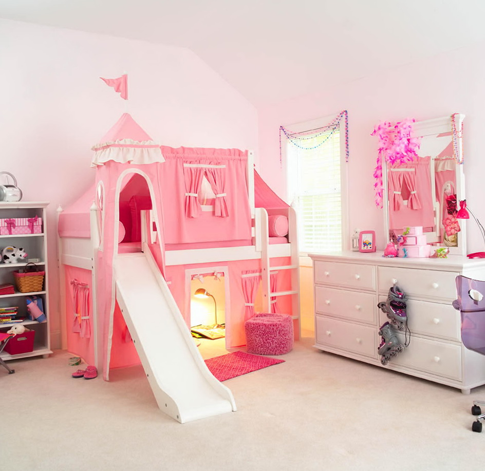 Bunk Beds With Slide For Boys