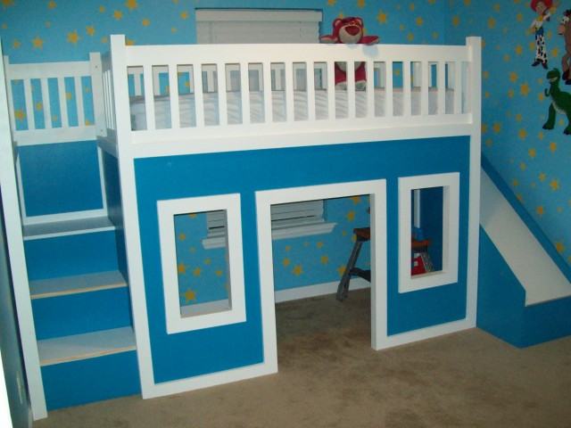 Bunk Beds With Slides And Stairs
