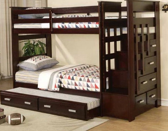 Bunk Beds With Trundle And Storage