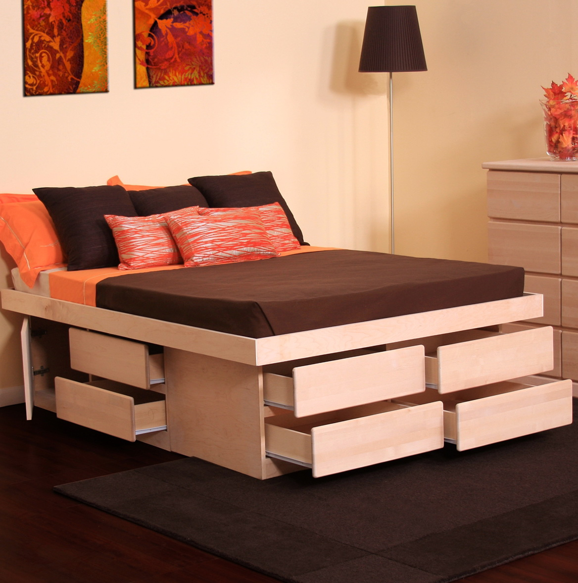 Cal King Bed Frame With Storage