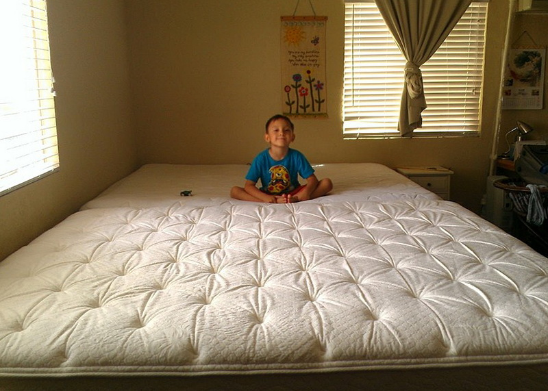 California King Size Bed With People