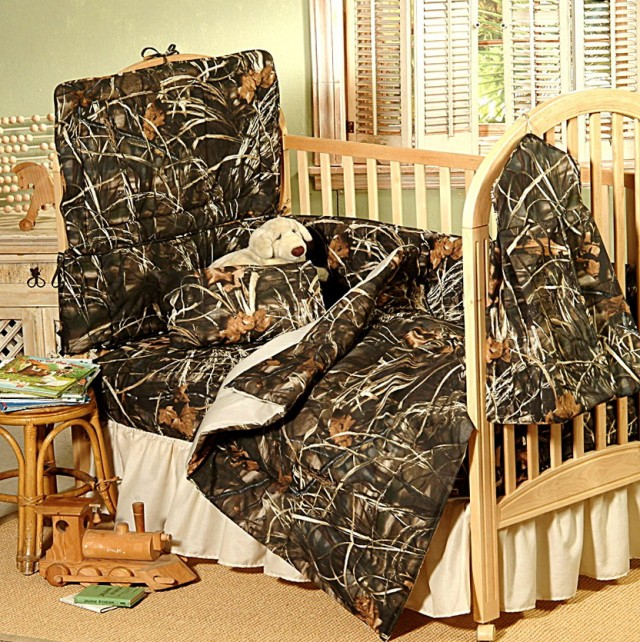 Camo Baby Crib Bedding Sets