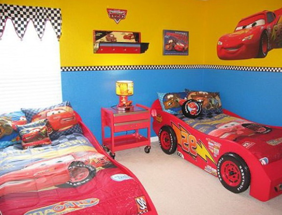 Car Twin Beds For Boys