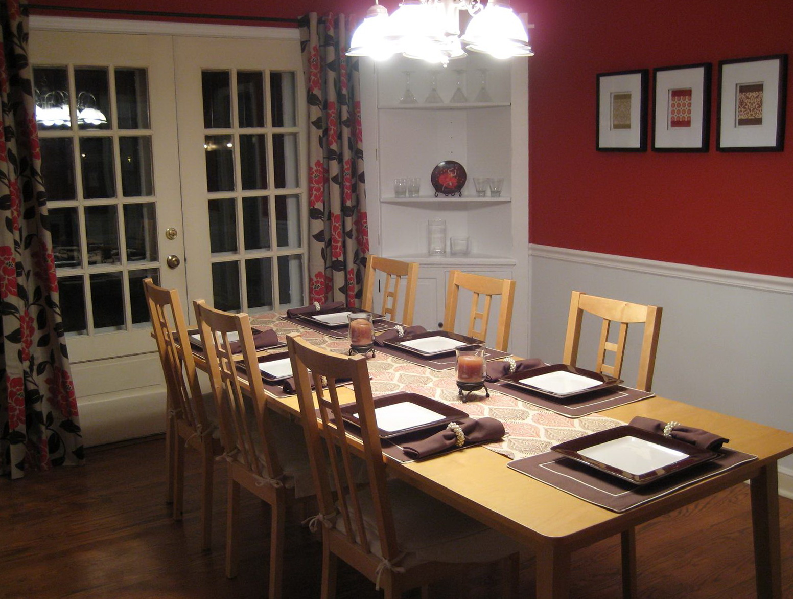 Chair Rail Height Dining Room