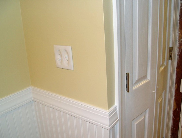 Chair Rail Height In Bathroom