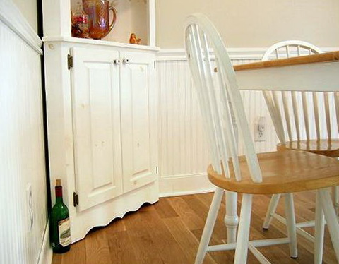 Chair Rail Height In Kitchen