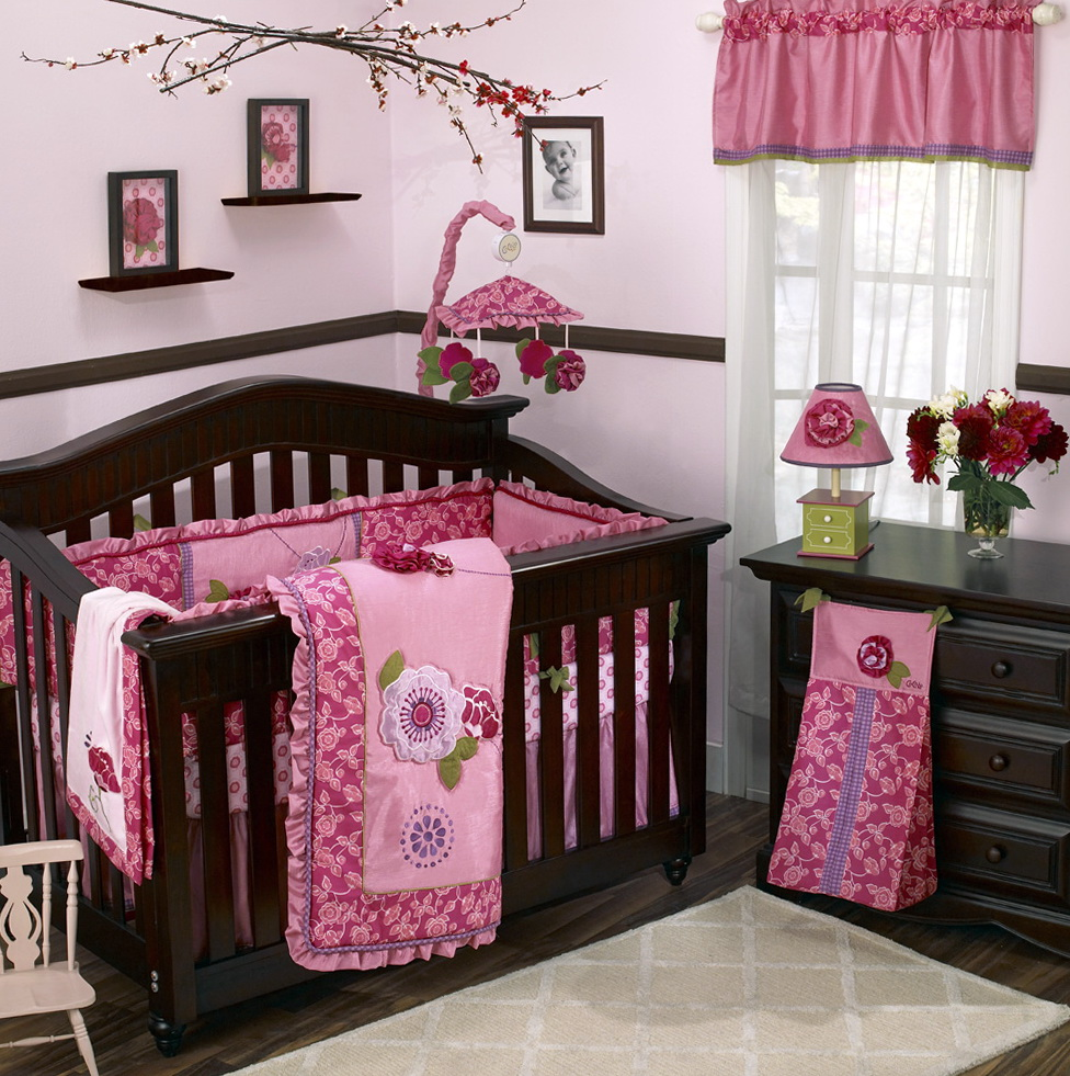 Cheap Baby Girl Crib Bedding Sets