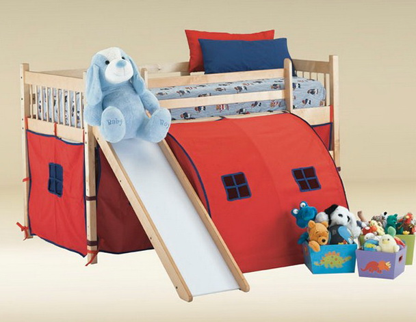Cheap Bunk Beds With Slide