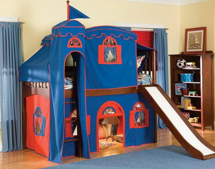 Cheap Loft Beds With Slide