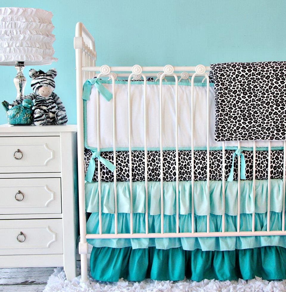 Cheetah Print Bedding For Cribs