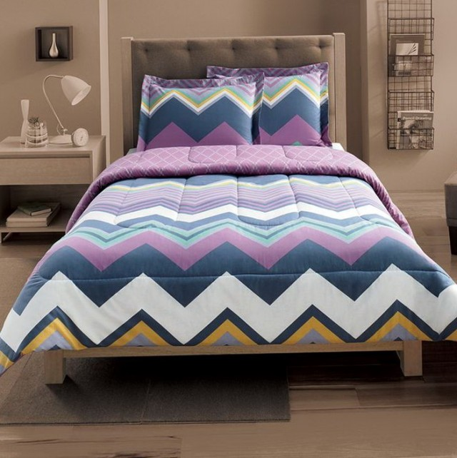 Chevron Bedding Set Full