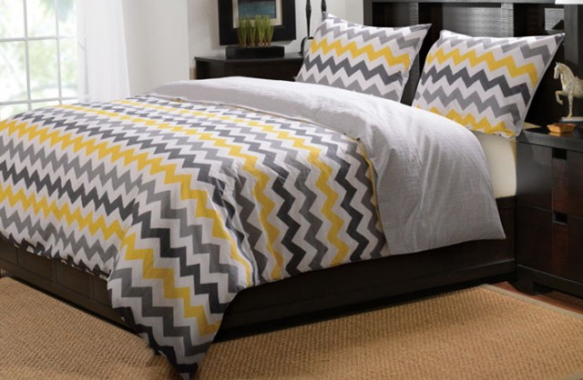 Chevron Bedding Set King