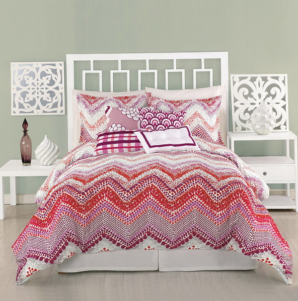Chevron Bedding Set Twin