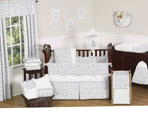 Chevron Crib Bedding Target
