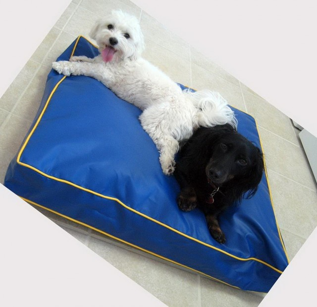 Chew Proof Dog Bed Material