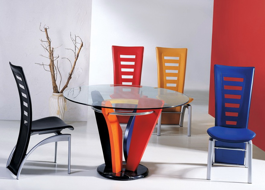 Contemporary Kitchen Tables And Chairs