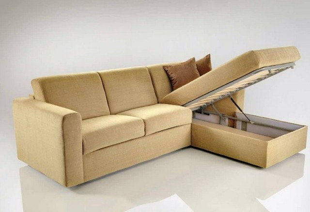 Convertible Sofa Bed With Storage