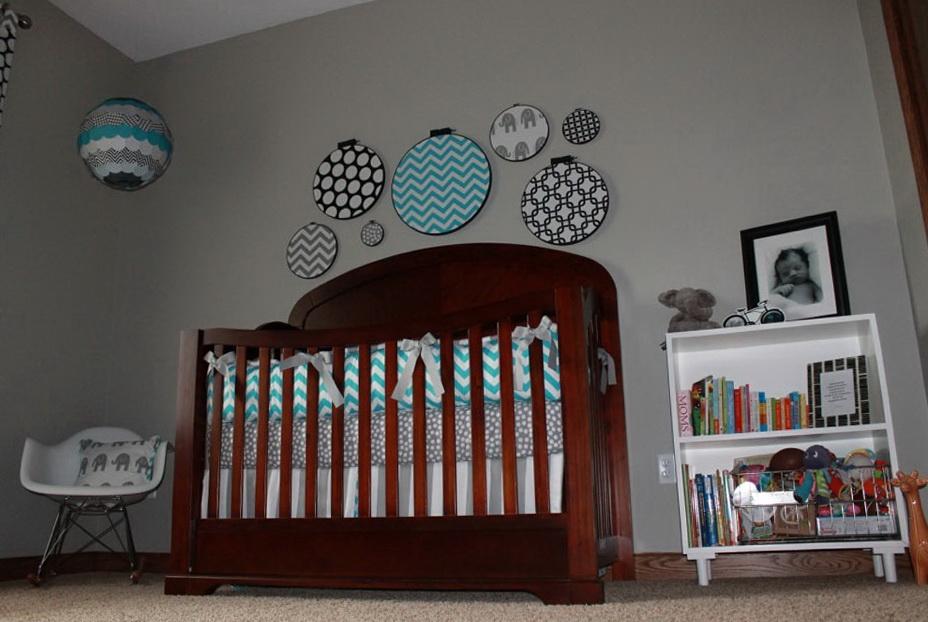 Custom Crib Bedding For Baby Boy